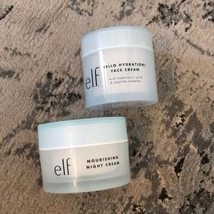 Set of day and night cream by e.l.f.